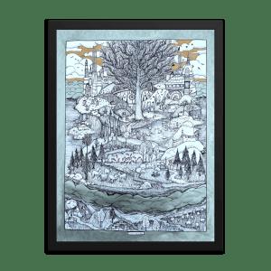 Tír na nÓg Framed Print