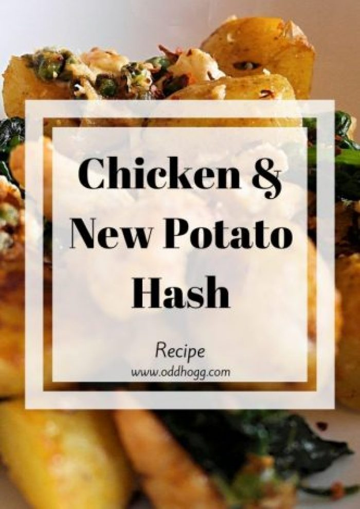 Chicken and New Potato Has Recipe | This is our adaptation of one of the recipes in the Lean in 15 books by the body coach. It is so simple and quick to make for a mid week family meal http://oddhogg.com