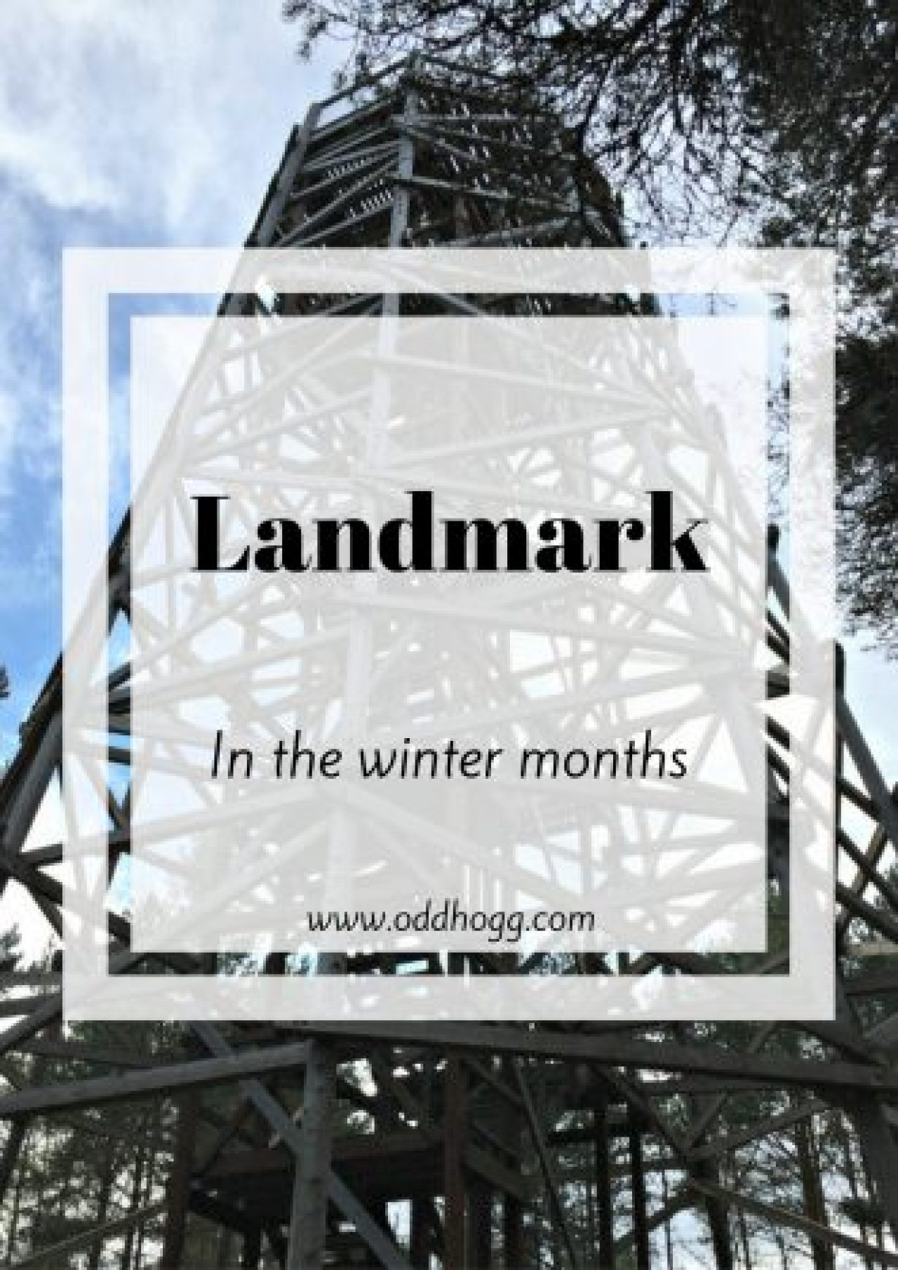 Landmark In The Winter Months | Have you ever wondered what a family day out at Landmark Forrest Adventure Park is like in the winter? We went along in November to see which of the attractions we could see. Click on the post to see what we got up to http://oddhogg.com