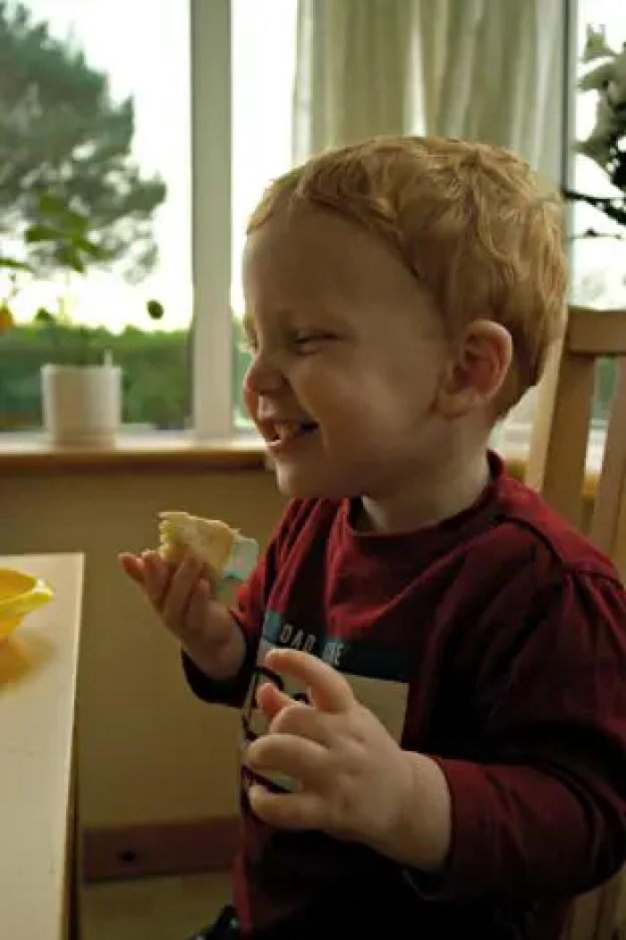 bakerdays Letterbox Cake Review   Littlest Tasting http://oddhogg.com