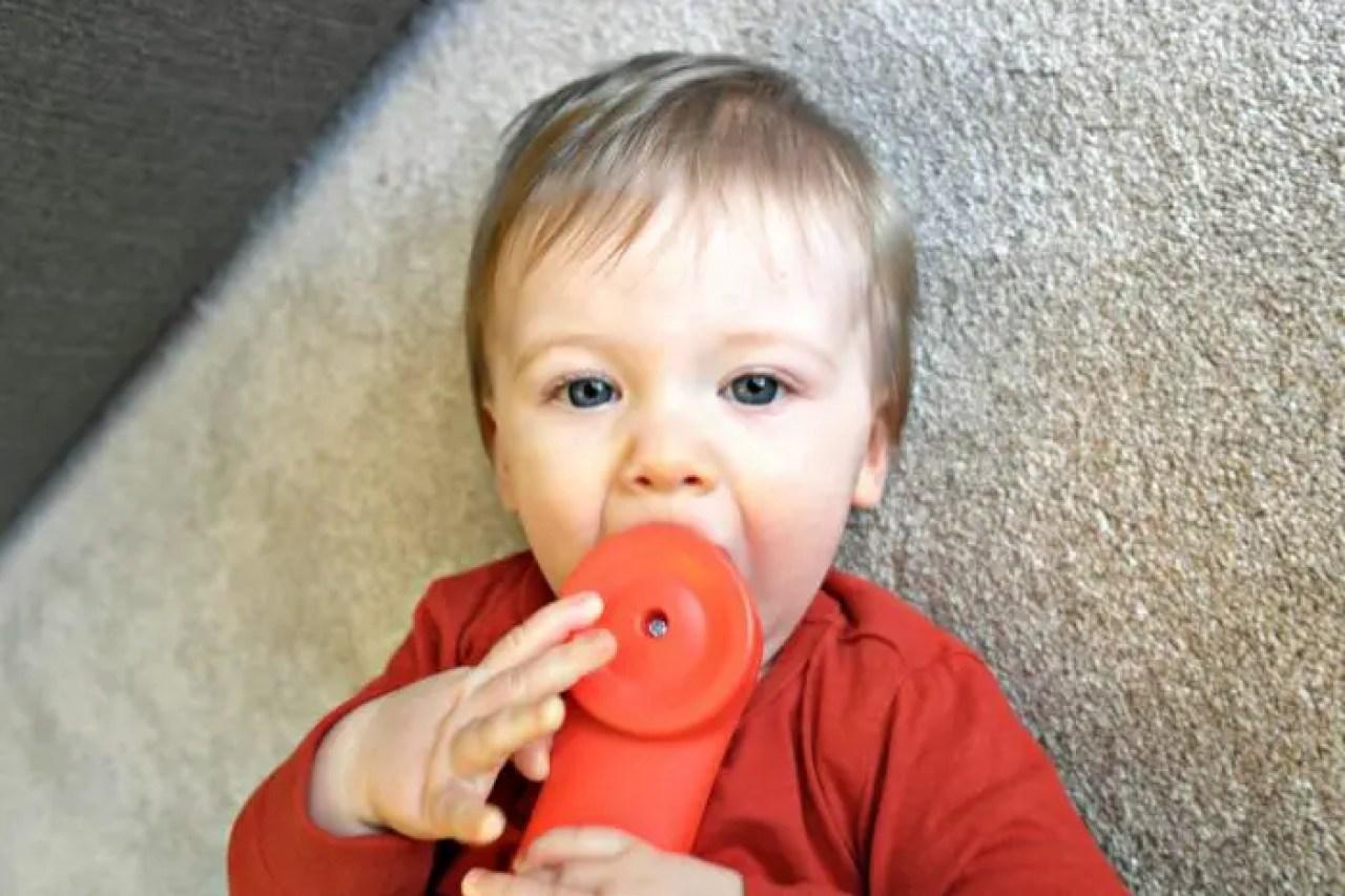 11 months old | Piglet phone http://oddhogg.com