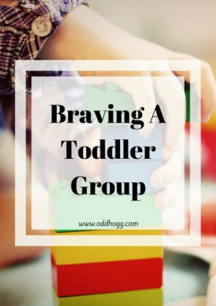 Braving A Toddler Group | It can be rally daunting walking into a group of mums on your own with your child. I have written about my experiences going to a toddler group for the first time with my baby http://oddhogg.com