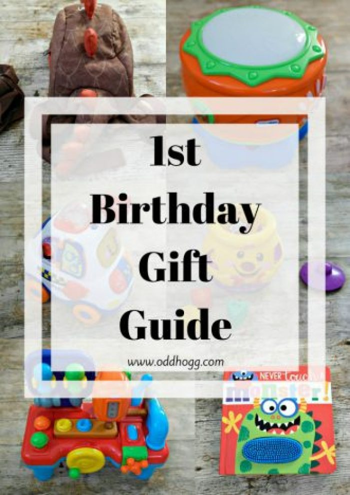 1st Birthday Gift Guide | Looking for present ideas for a first birthday? Here are 8 gifts that we have loved http://oddhogg.com