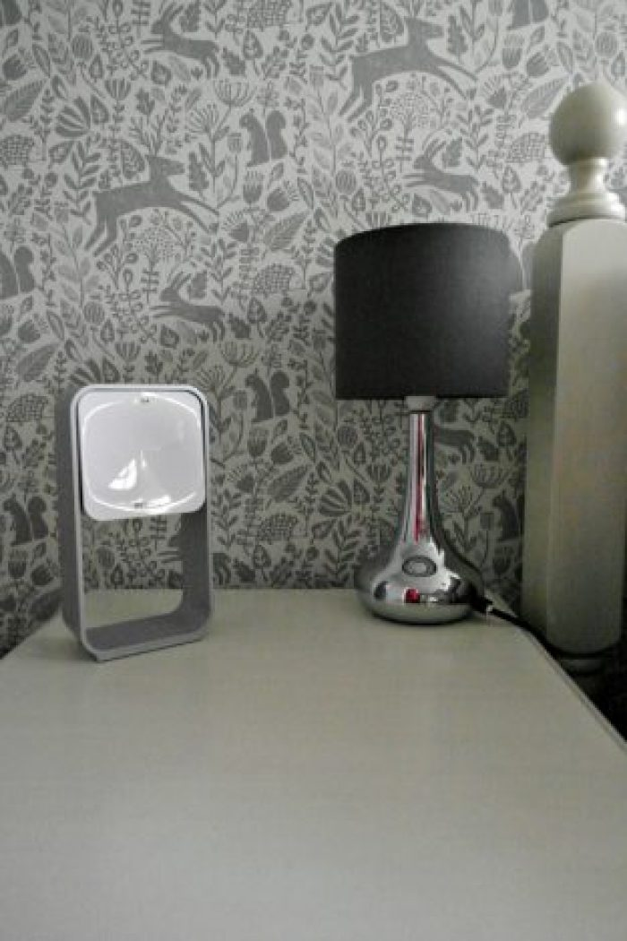 A Good Night's Sleep With S+ By ResMed   On the bedside table http://oddhogg.com