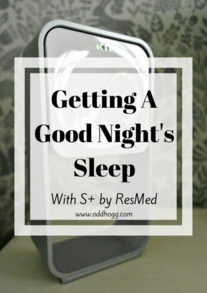 Getting A Good Night's Sleep With S+ By ResMed   With young children getting a decent sleep is so important. I have been trying out the S+ sleep monitor to see if it can help me get not just more sleep, but more efficient sleep http://oddhogg.com