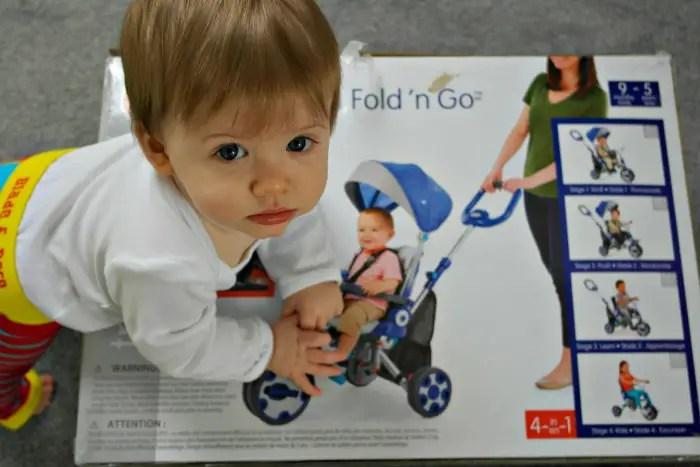 Little Tikes Fold 'n' Go 5-in-1 Trike | Packaging http://oddhogg.com