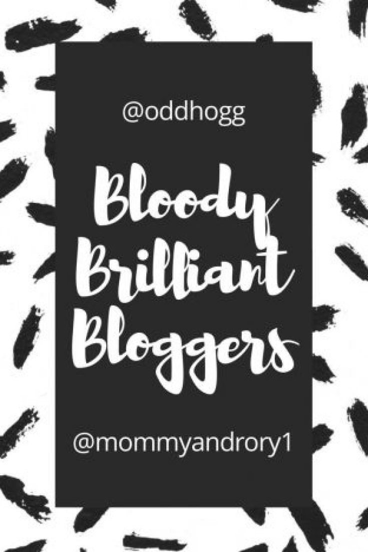 Bloody Brilliant Bloggers - May   This is a new tag to give credit to some of the bloggers out there! http://oddhogg.com