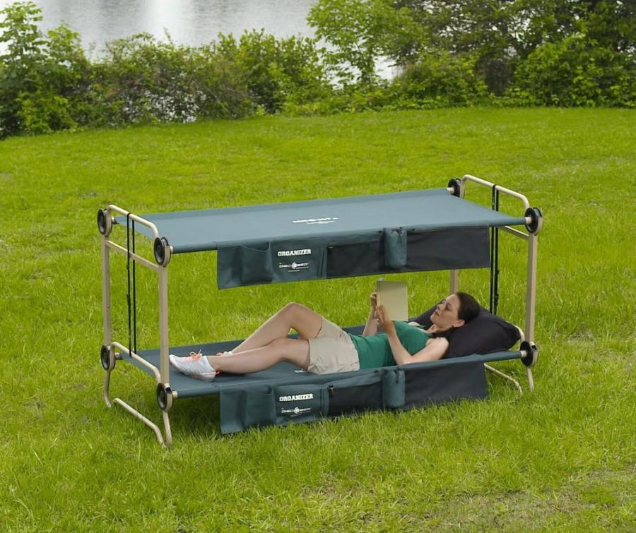 Disc O Bed An Adult Camping Bunk Bed Turns Into A Sofa