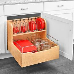 Pull Out Kitchen Cabinet Elkay Sinks Adjustable Pull-out Drawer For Organizing Your ...