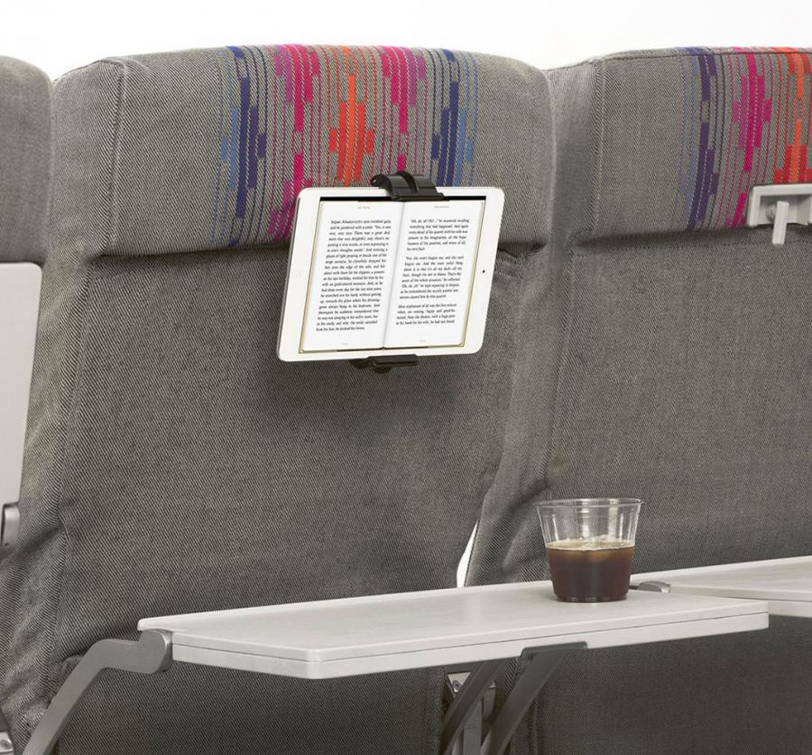 Airplane Seat Mount For Mobile Devices