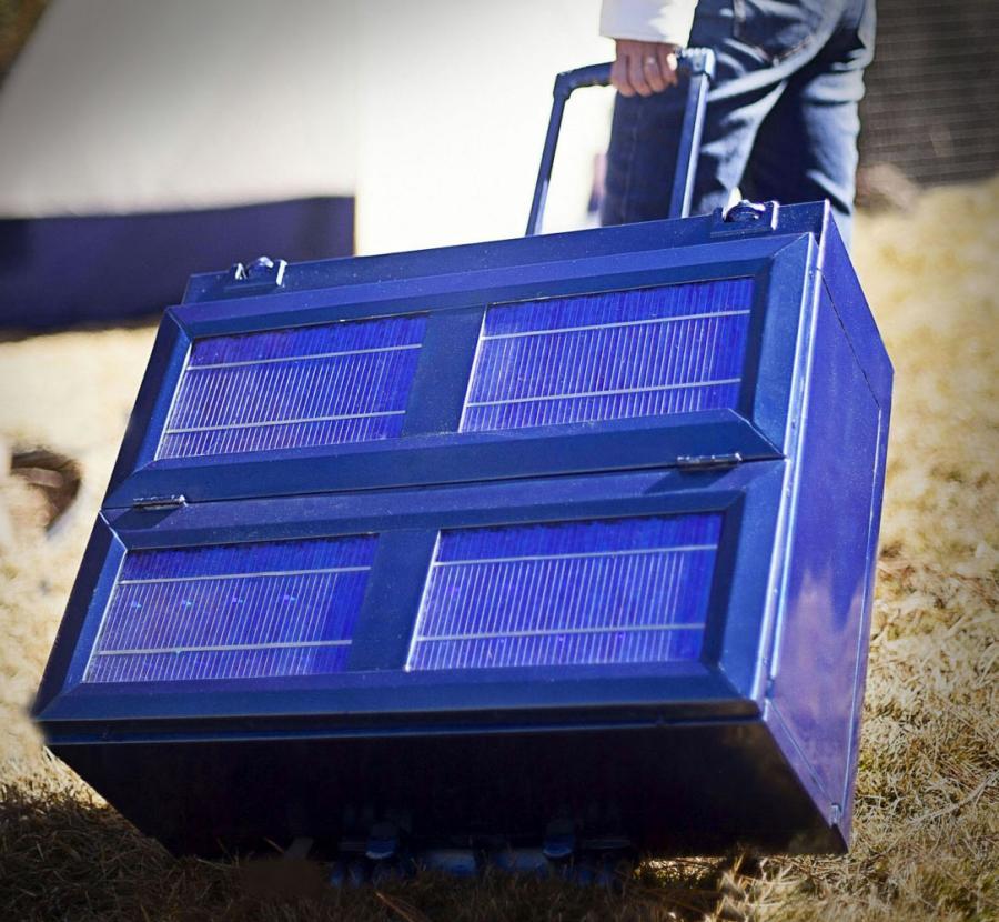 Anywhere Fridge Collapsible Solar Powered Refrigerator