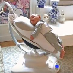 Swing Chair For Baby White Swivel With Arms Babocush Vibrating Pad Helps Soothe Crying Babies