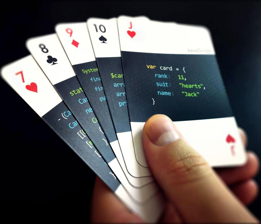 Code Deck Are Playing Cards For Developers
