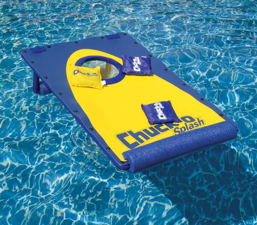 CornHole Board For The Pool