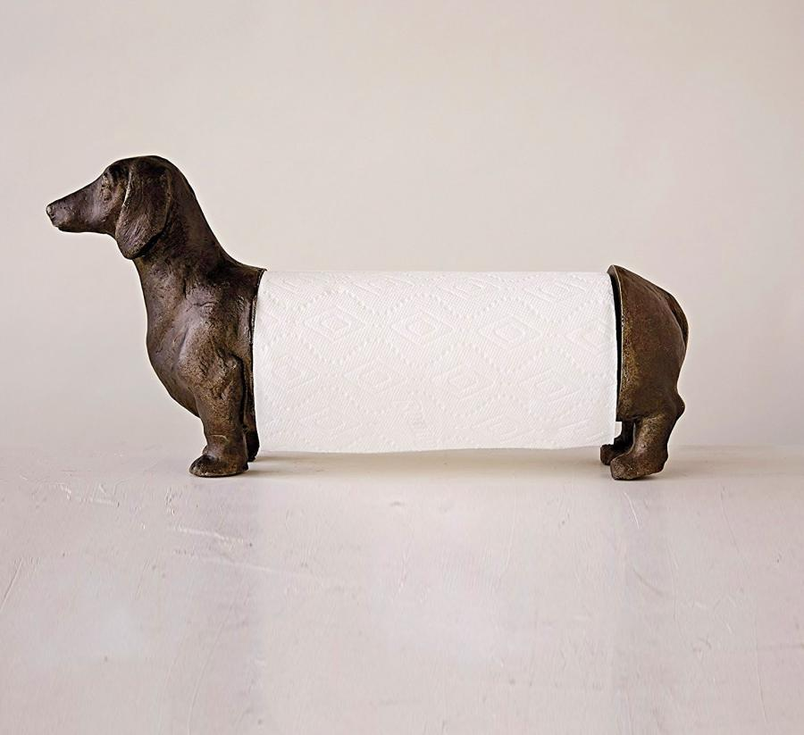 Dachshund Wiener Dog Paper Towel Dispenser