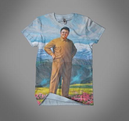 Dear Leader Kim Jong Il Glorious TShirt