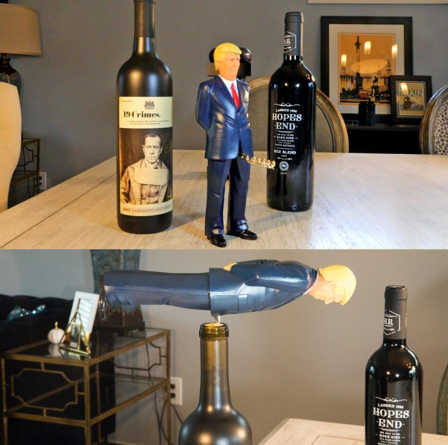 Donald Trump Corkscrew
