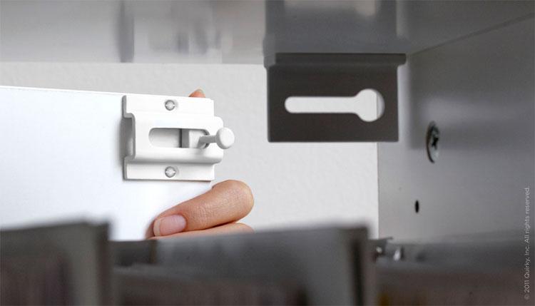 Drawer Lock With Magnet Key