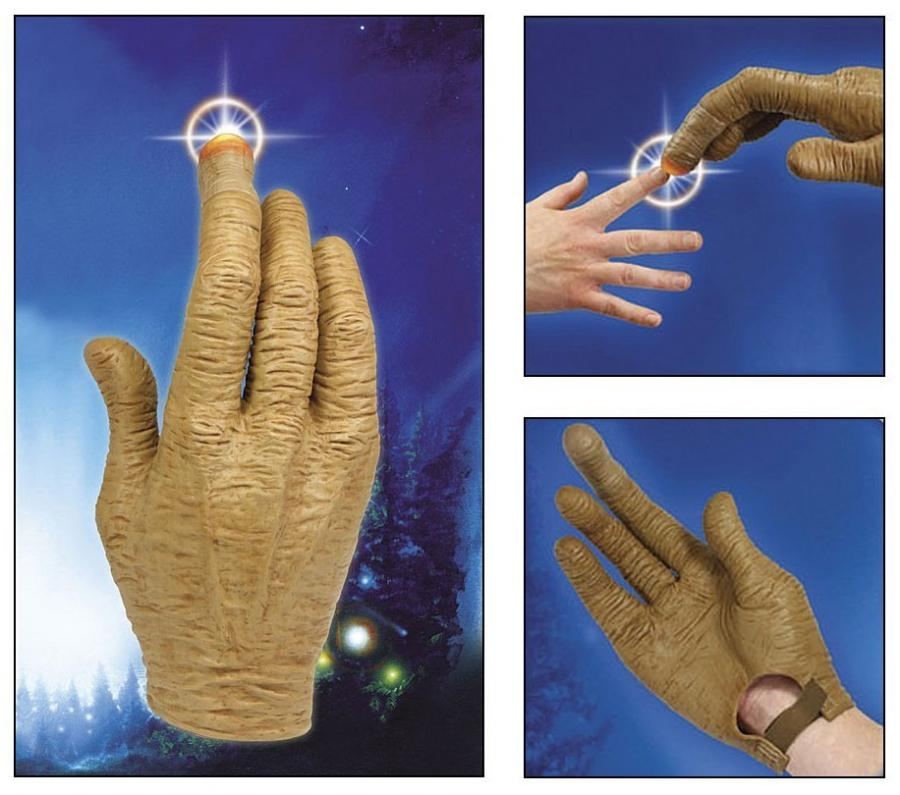 ET Glove With Light Up Finger