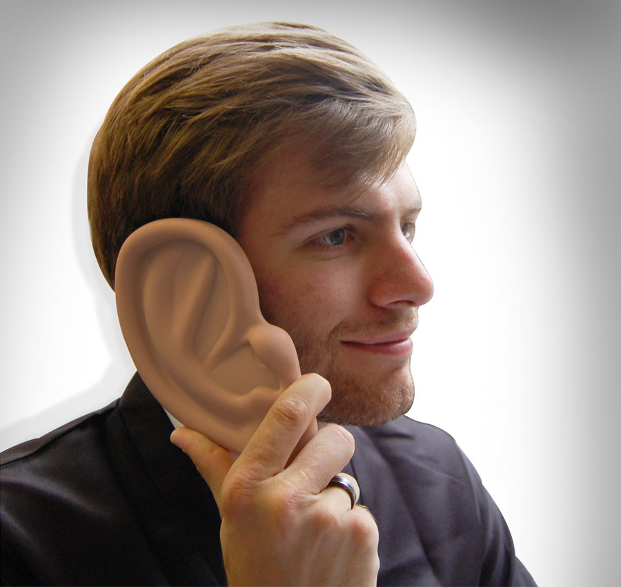 Ear Shaped iPhone Case