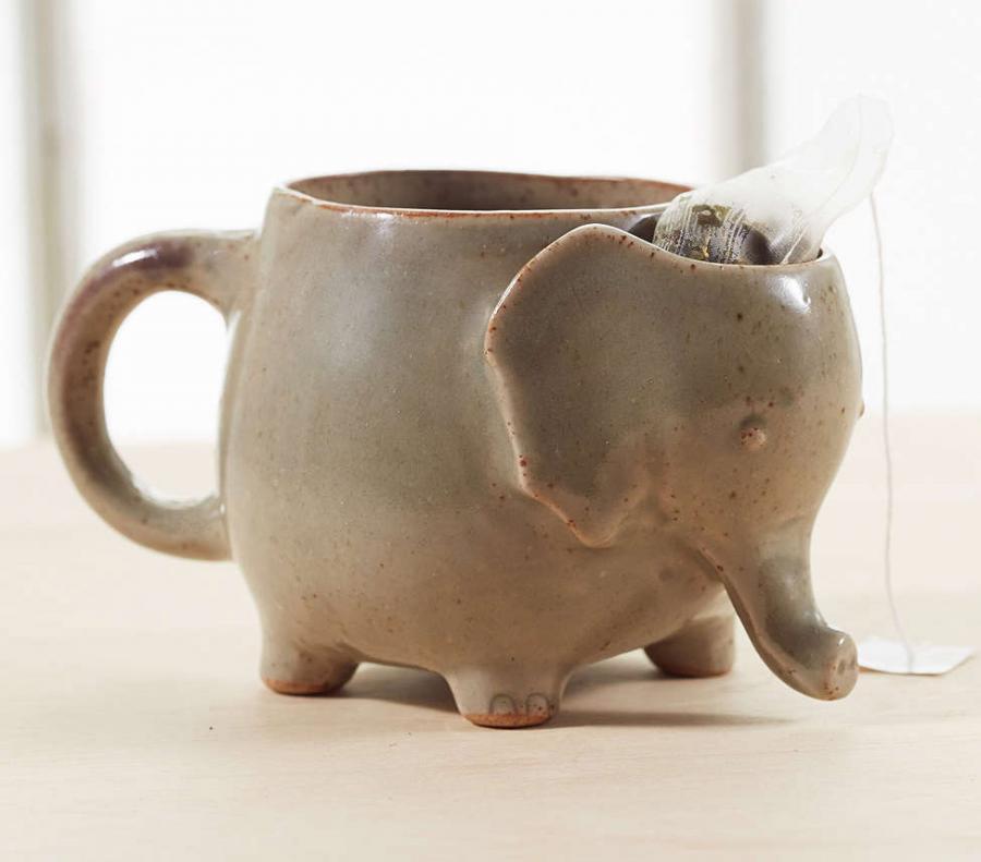 Cute Little Kid Wallpapers Elephant Tea Mug Holds Your Used Tea Bag