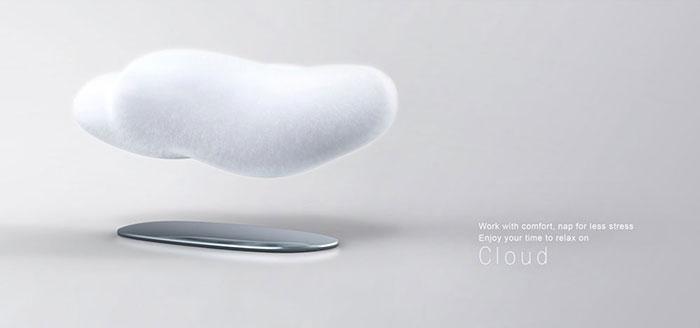 Floating Cloud Magnet Sofa