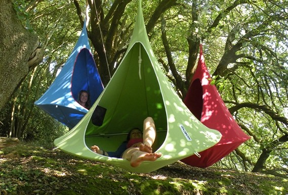 Cacoon A Hanging Cocoon Private Hammock