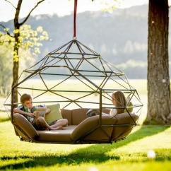 Two Seat Lawn Chairs Osaki Os 4000 Massage Chair Review 2 Kodama Zomes: A Caged Hanging Outdoor Hammock