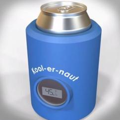 Kitchen Gadget Gifts Grohe Faucet Parts Koolernaut Is A Beer Koozie With Thermometer