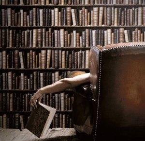 library bookcase books tweet odditymall