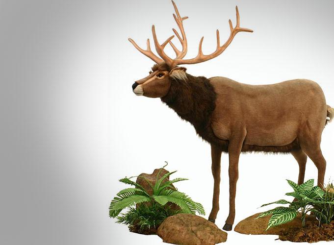 Lifesize Animated Talking Reindeer
