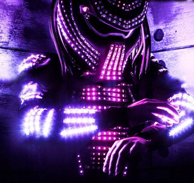 LightUp LED Predator Costume  Controllable Via WiFi