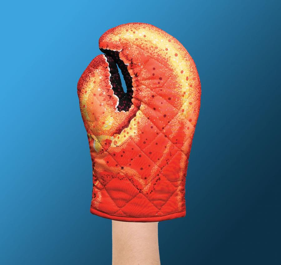 Lobster Claw Oven Mitts