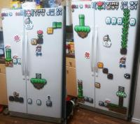 Mario Refrigerator Magnets