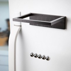 Geeky Kitchen Gadgets Floor Mats Washable Newton's Cradle Fridge Magnet