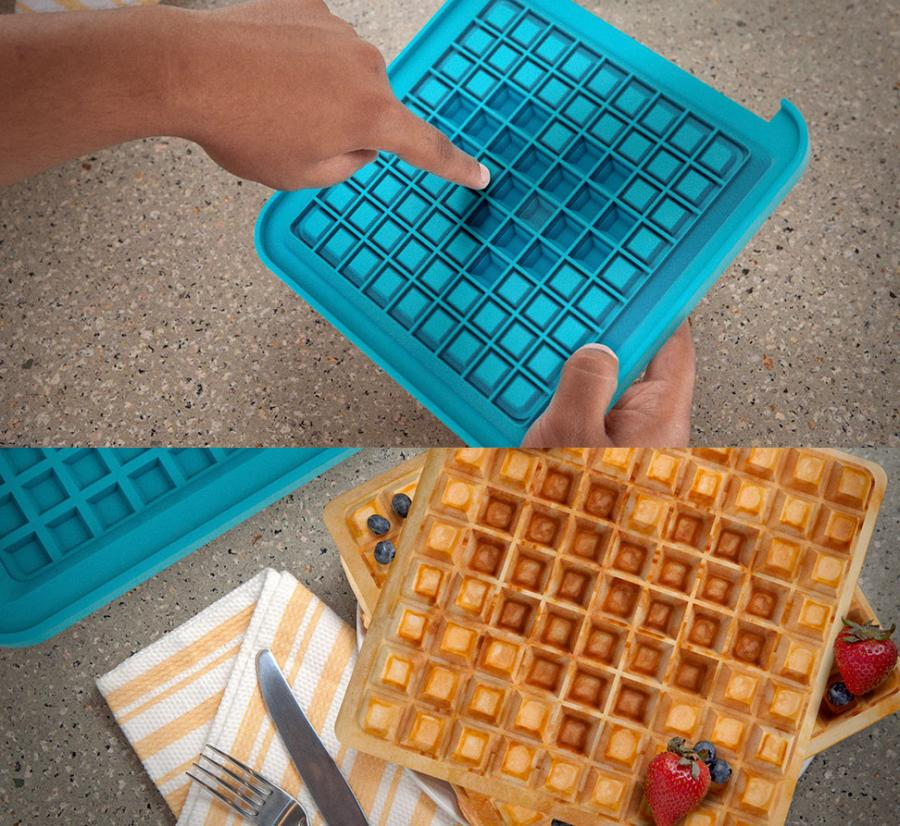 the honest kitchen com coiled faucet pixel waffle maker lets you choose your design