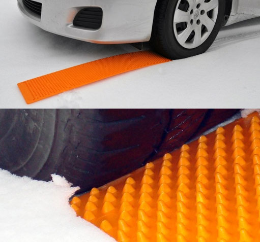 Portable Tow Truck An Emergency Tire Traction Strip