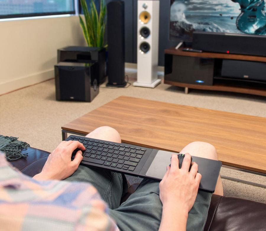 Razer Turret A Lap KeyboardMouse Combo You Can Use On The Couch
