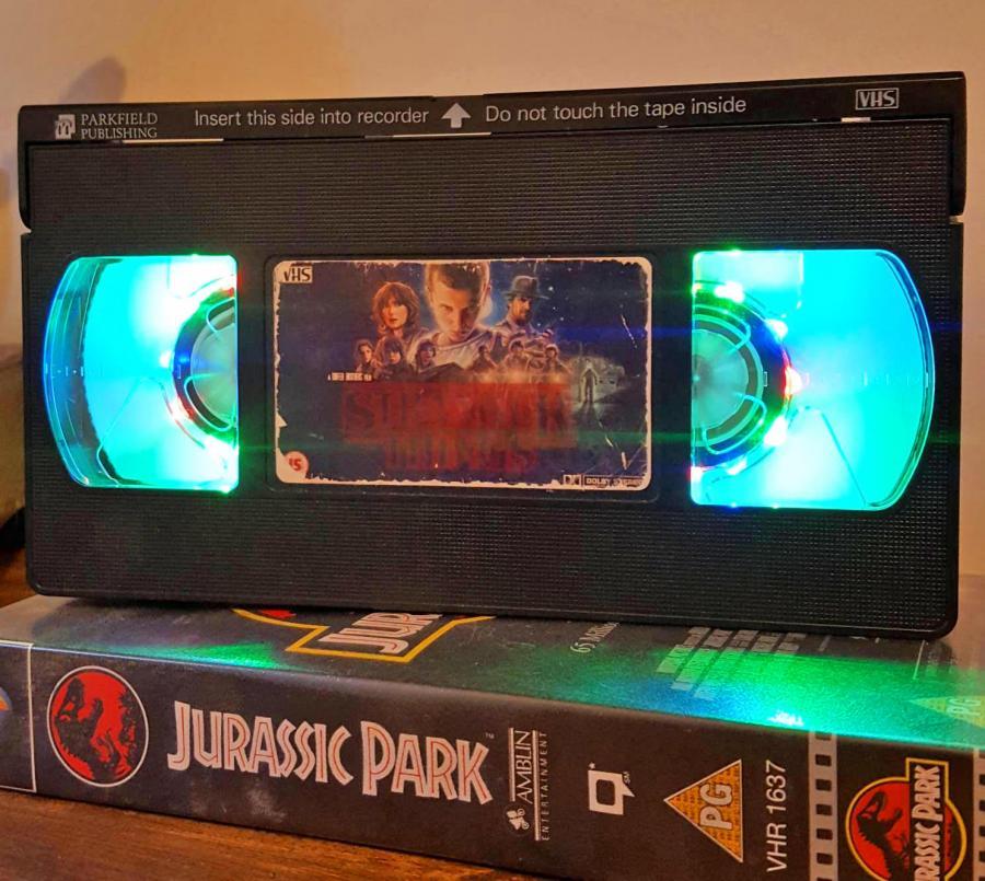 Retro Stranger Things VHS NightLight