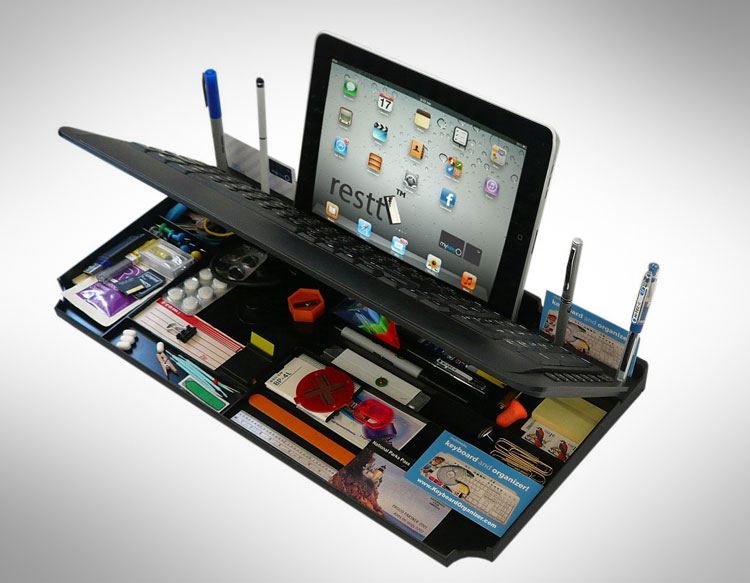Secret Compartment Keyboard Organizer