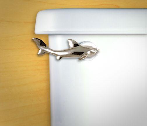 Shark Shaped Toilet Flush Handle