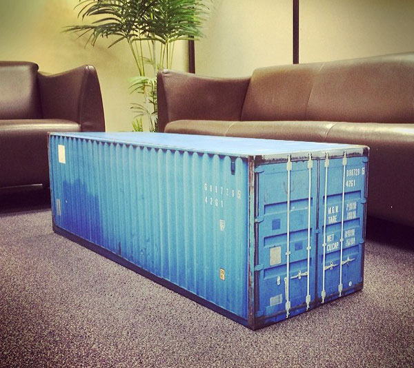 Shipping Container Coffee Table Wrap