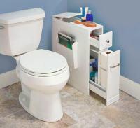 Skinny Bathroom Organizer For Small Bathrooms