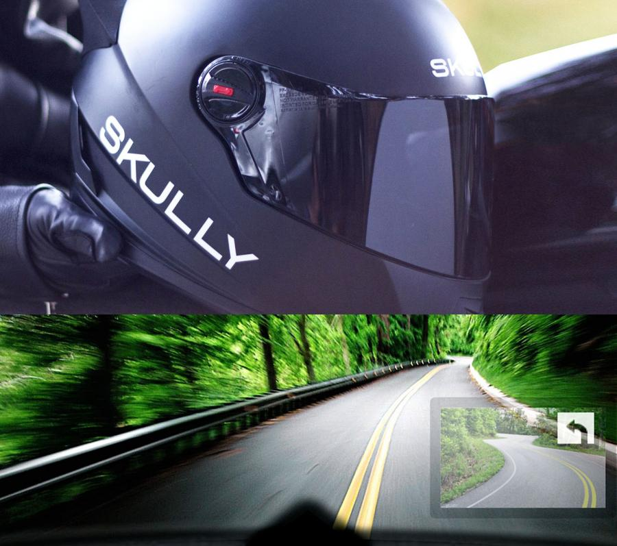 new kitchen gadgets waste bins skully is a smart helmet with heads up display