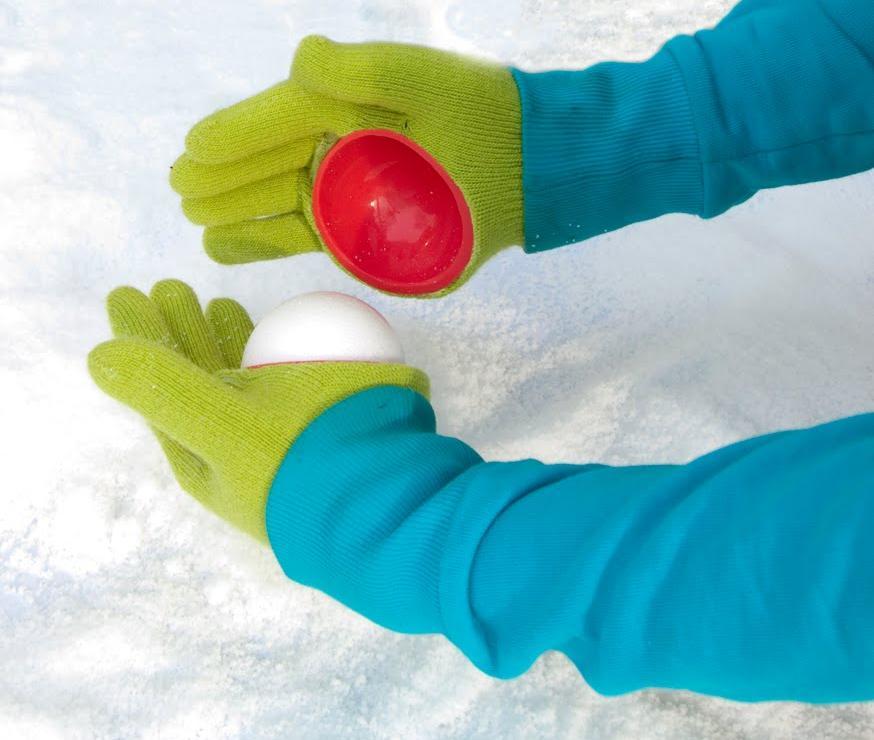 Snowball Making Gloves