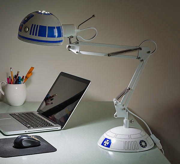 Star Wars R2D2 Desk Lamp