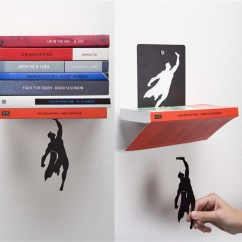 Kitchen Gadgets Drop Leaf Tables Supershelf: A Book Shelf That Makes It Look Like Superman ...