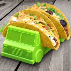 Kitchen Plates Set High Top Table Taco Truck Holder Plate (set Of 2)
