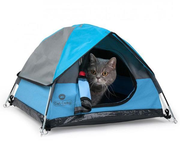 Cat Camp Mini Camping Tent