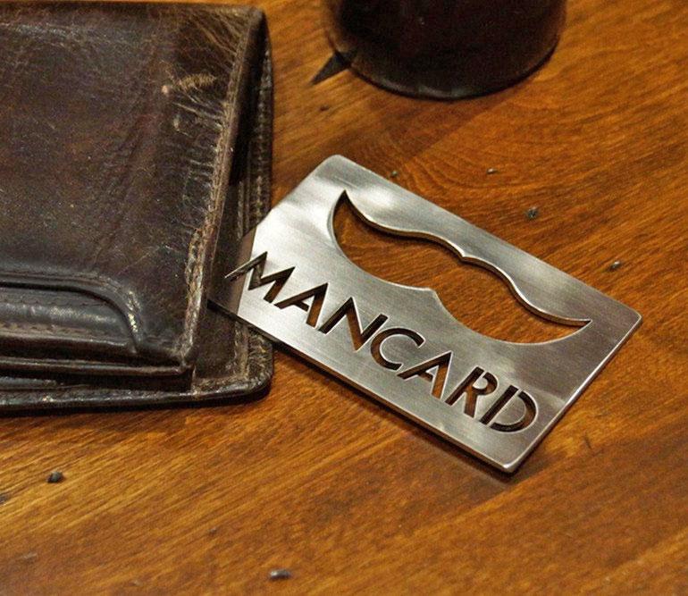 The Man Card Bottle Opener 2 Pack